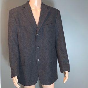 Eddie Bauer Mens Gray Sports Jacket SZ. 44T